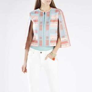BCBGMaxAzria Cape- blush cream pink blue